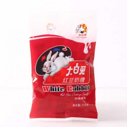 White Rabbit Candy- Red Bean 114g