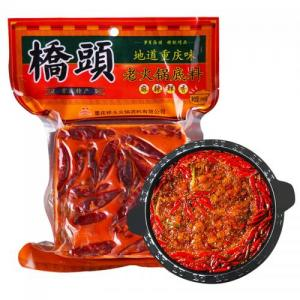 Qiao Tou Chongqing Old Hotpot Soup Base - Hot And Spicy 280g