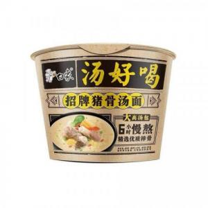Baixiang Bowl Noodle- Signature Pork Bone 108g