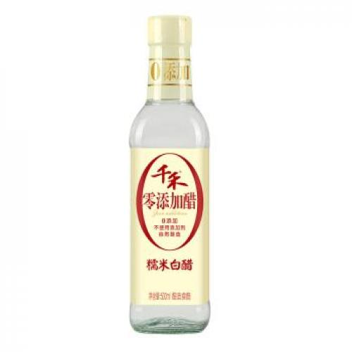 Qianhe Zero Additive Glutinous Rice White Vinegar 500ml