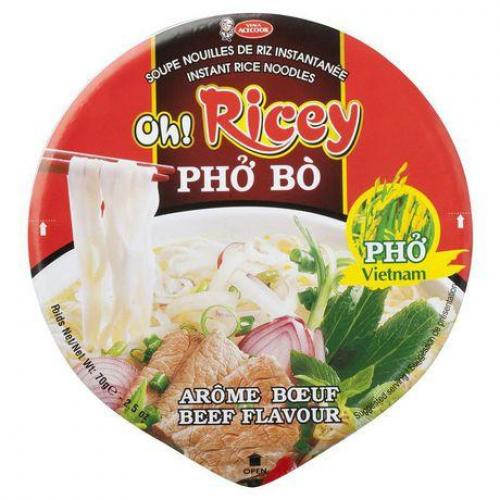Oh! Ricey Vietnamese Pho Beef Bowl 70g