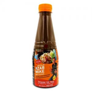 ZAB MIKE FERMENTED FISH SAUCE 350ML PLA RA THAI PAPAYA SALAD FERMENTED FISH SAUCE