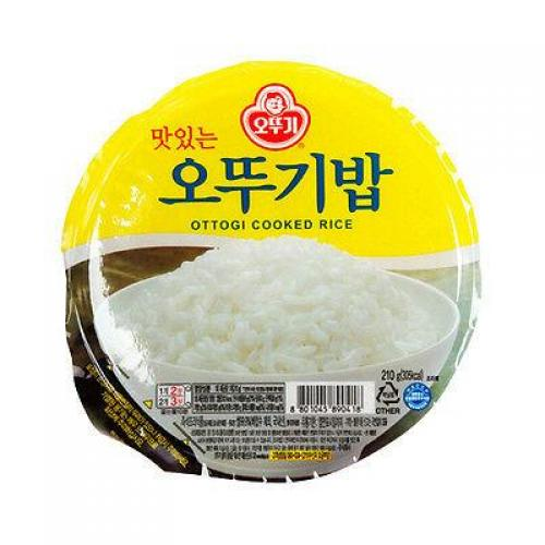 Ottogi Cooked Rice (Microwave) 210g