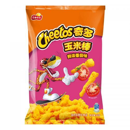 Cheetos Corn Snack -Tomato 90g