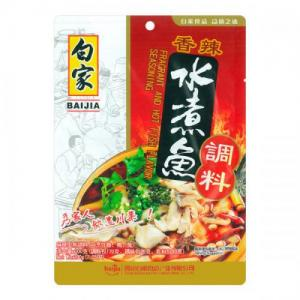 BJ Sichuan Seasoning for Fish 200g