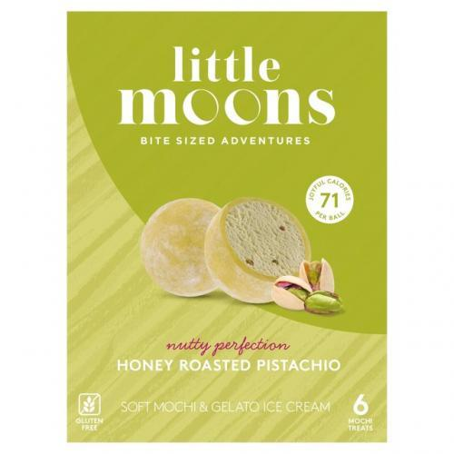 Little Moon Mochi Ice Cream -Honey Pistachio 198g