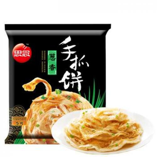 ynear Plain Pancakes Green Onion Flavor 5pcs 450g
