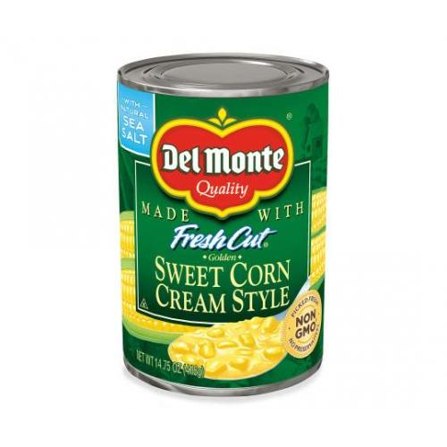 Del Monte Sweet Corn In Cream Style 418g