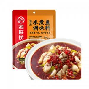HDL Spicy Seasoning For Szechuan Boiled Fish 198g